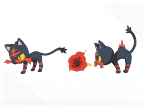 Litten concept artwork - Pokemon Sun and Moon