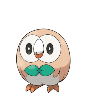 512px-Rowlet - Pokemon Sun and Moon